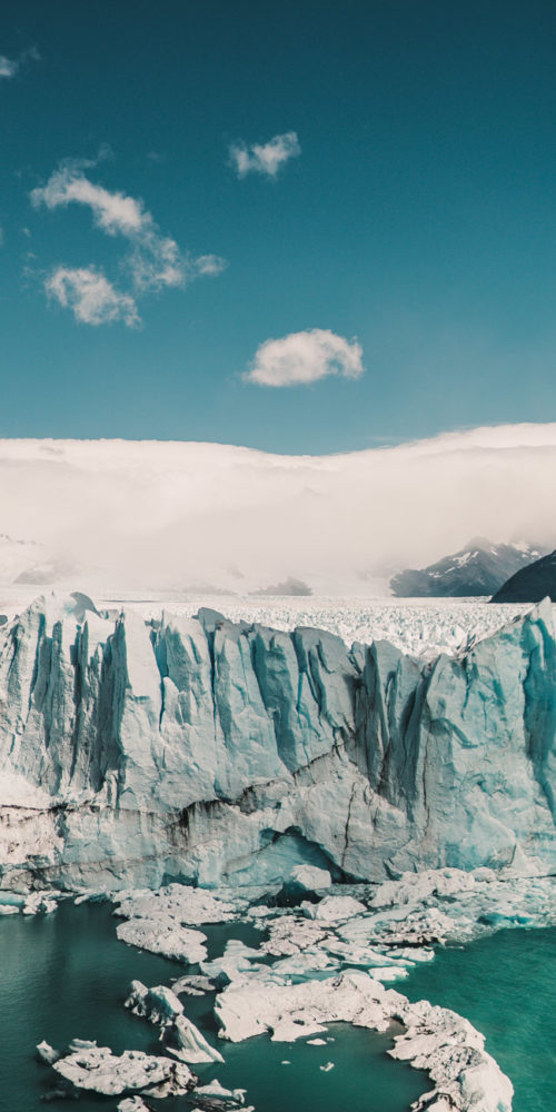 O Perito Moreno, Patagônia