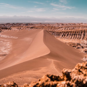 Duna Deserto do Atacama, Vale de la Luna